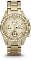 Fossil Decker Chronograph Gold-Tone Stainless Steel Watch