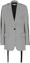 Stella McCartney Victoria micro-check wool blazer