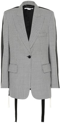 Stella McCartney Victoria micro-check wool blazer