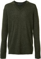 Haider Ackermann v-neck jumper