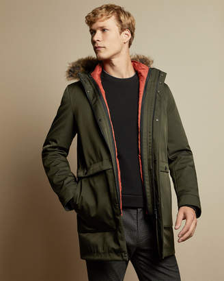 Ted Baker BRYTUN 3-in-1 parka with hood