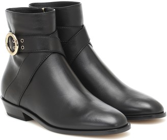 Jimmy Choo Blanka Flat leather ankle boots