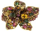 Iradj Moini Multistone Flower Flexible Cuff