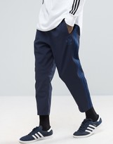 Adidas Originals Ac 7/8 Joggers In Blue Bk0018