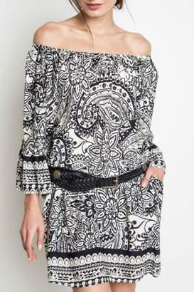Umgee USA Paisley Day Dress