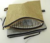 Jo-Jo JoJo Accessories Monogramed Glitter Purse