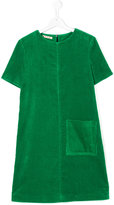 Marni short sleeve corduroy dress