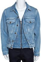Thumbnail for your product : Louis Vuitton Blue Plain Rainbow XIX Denim Jacket M