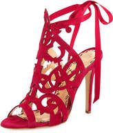 Marchesa Jessica Suede Cutout Sandal