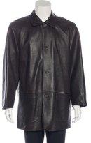 Ermenegildo Zegna Reversible Leather Coat