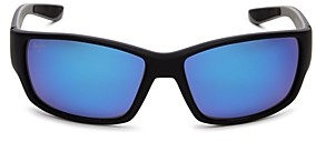 Maui Jim Unisex Local Kine Polarized Rectangular Sunglasses, 61mm