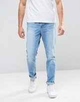 Kubban 90'stapered Fit Bleach Jean