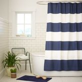 west elm Stripe Shower Curtain