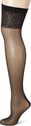 Edvige Fiore Obsession Designer Patterned Stockings 20 Denier
