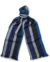 Dries Van Noten - Striped Wool Scarf