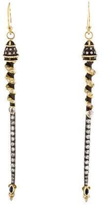 Armenta Diamond & Sapphire Drop Earrings