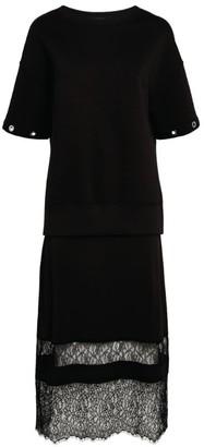 AllSaints Fran Lace 2-In-1 Dress