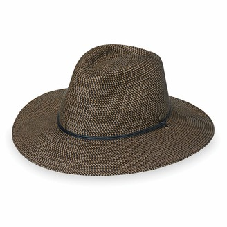 Wallaroo Hat Company Mens Logan Fedora UPF 50+ Fedora Adjustable Packable Ready for Adventure Designed in Australia