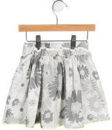 Little Marc Jacobs Floral A-Line Skirt