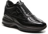 Hogan Final Sale Patent Leather Slip-On Sneaker