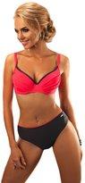 Aquarilla Luxury Swimwear Bikini Two Piece Set Swimsuit Swimwear Underwire Bra with Push up