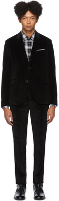 Neil Barrett Black Corduroy Suit