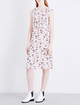 Claudie Pierlot Robin crepe dress