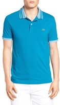 Lacoste Men's Semi Fancy Stretch Polo
