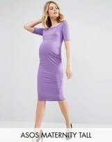Asos TALL Bardot Dress with Half Sleeve