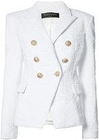 Balmain double-breasted blazer - women - Polyamide/Spandex/Elastane - 36