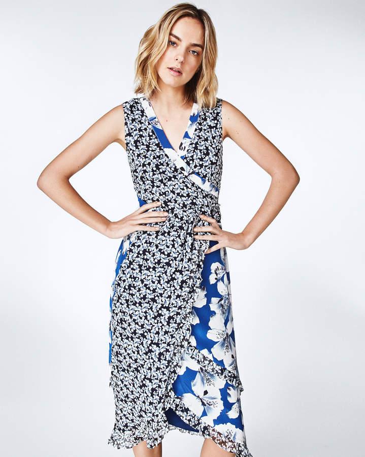 Nicole Miller Hibiscus Canopy Dress