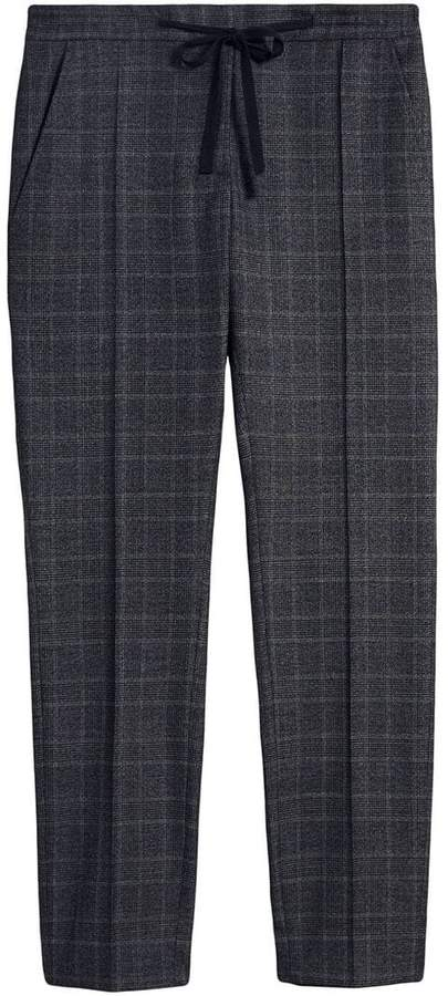Burberry Prince of Wales check trousers