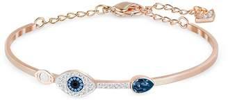 Swarovski Symbolic Evil Eye Bangle Bracelet