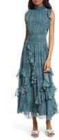 Rebecca Taylor Women's Minnie Floral Maxi Dress