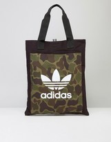 Adidas Originals Shopper Bag In Camo Bk2153