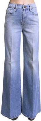 Frame Le Palazzo Wide Leg Cotton Denim Jeans