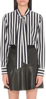 AG Jeans Arley striped silk shirt