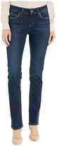 Silver Jeans Co. Elyse Mid-Rise Curvy Fit Straight Leg Jeans in Indigo L03403ASX479 (Indigo) Women's Jeans