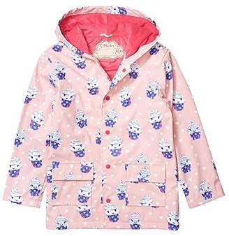 Hatley Dancing Cupcakes Raincoat (Toddler/Little Kids/Big Kids) (Pink) Girl's Clothing