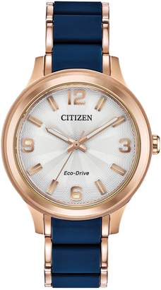 AR+ Citizen Drive AR - Action Required Rose Goldtone Stainless Steel Bracelet Watch