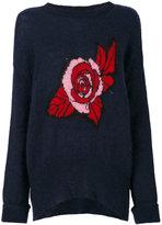 Markus Lupfer Erin oversized rose sweater