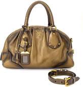 Prada Vitello Daino Two Way Handbag - Vintage
