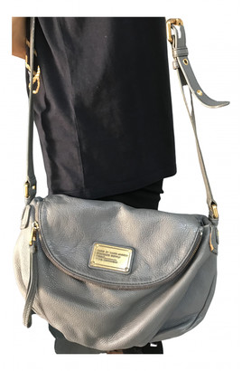 Marc by Marc Jacobs Classic Q Grey Leather Handbags