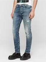 Calvin Klein Jeans Tapered Mid Blue Vintage Jeans