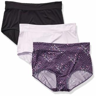 Warner's Warners Women's No Pinching No Problems 3 Pack Micro Brief Tailored Panties