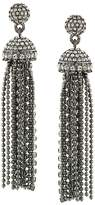 Carolee Pavé Tassel Earrings