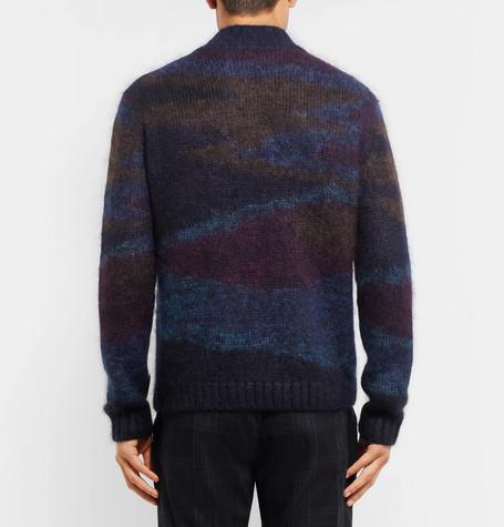 Missoni Camouflage Intarsia Sweater