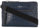 Jimmy Choo embossed leather crossbody bag