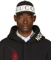Gucci Black Logo Band Cap