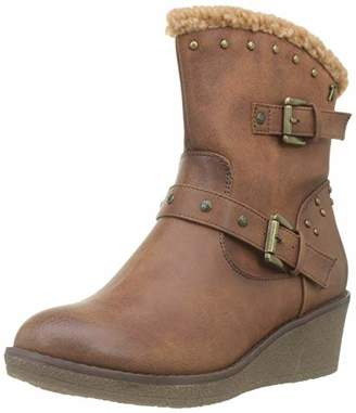 Refresh Women's 69198 Ankle Boots, Brown Camel